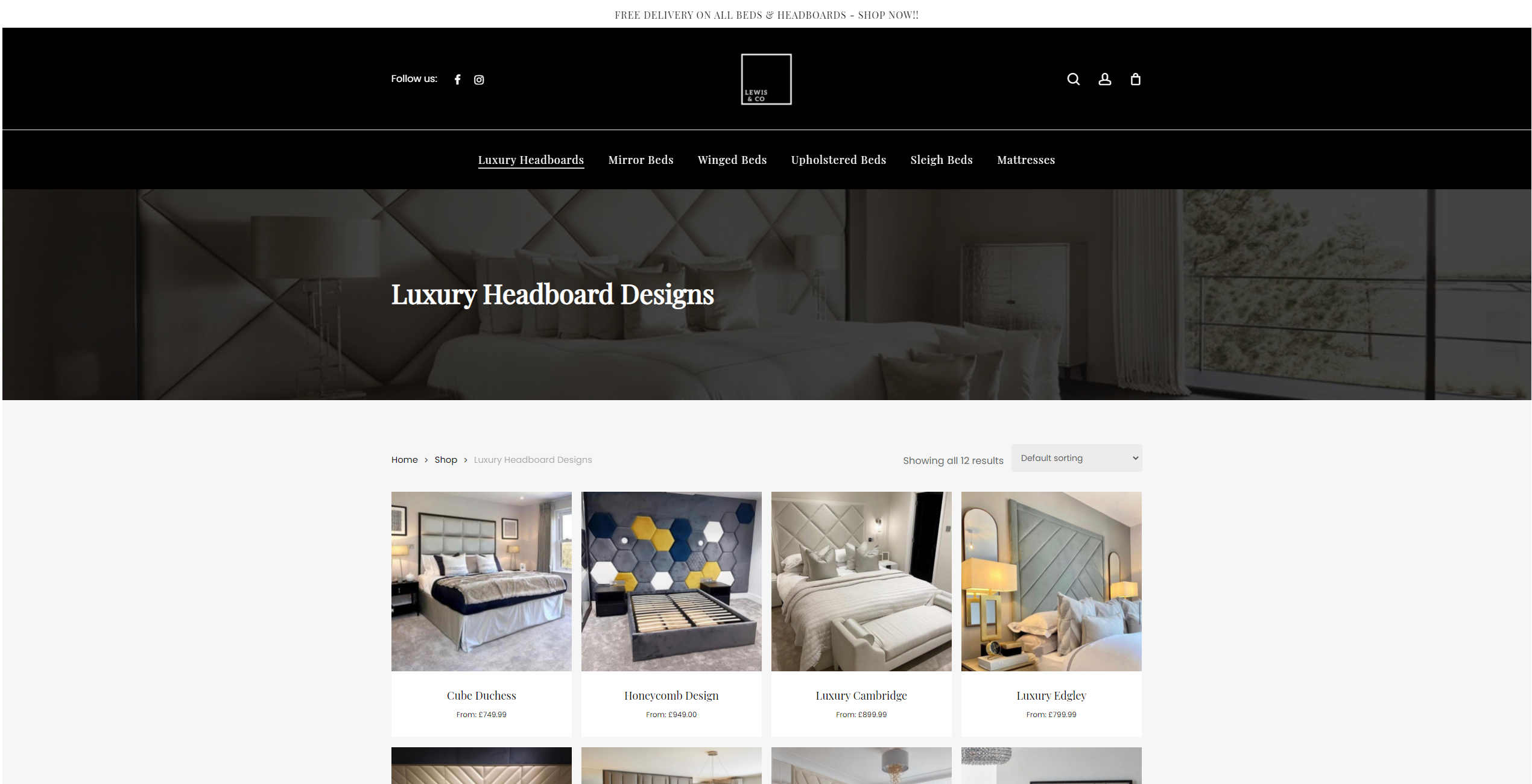 Lewis & Co Beds