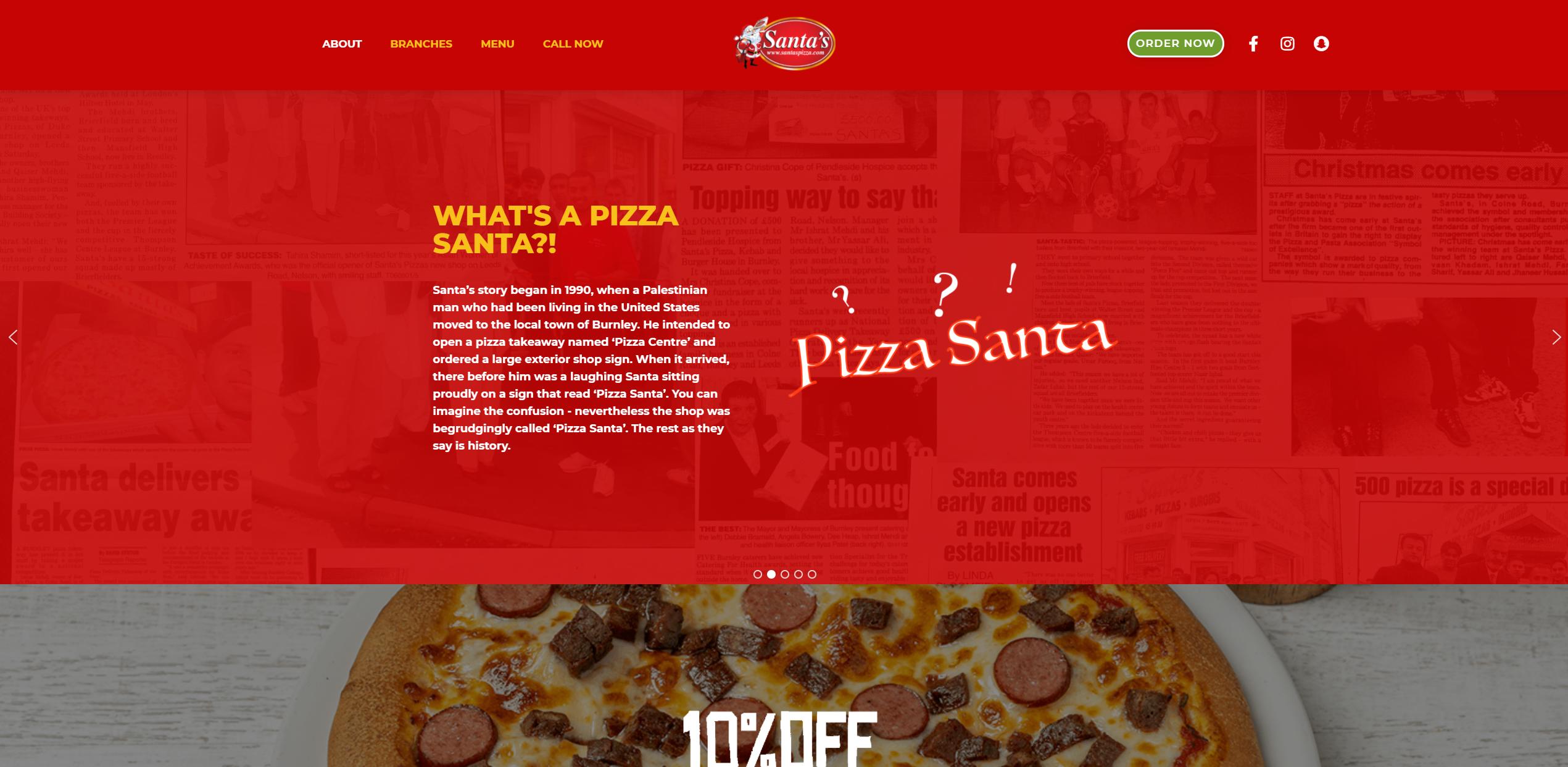 Santa's Pizza